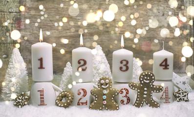3 Advent Kerzen