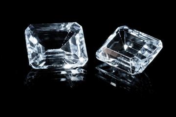 Two beautiful diamonds