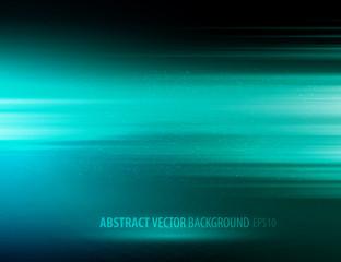 vector abstract horizontal energy design against dark background