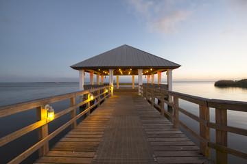 Apalachicola sea landscape in Florida, United States