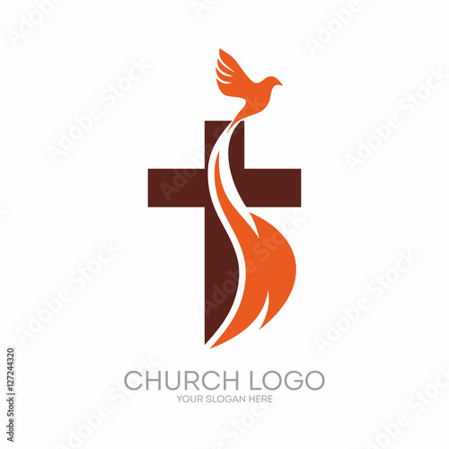 quotchurch logo christian symbols the cross of jesus the
