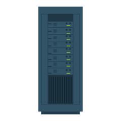 computer desktop server isolated icon vector illustration design