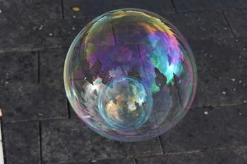 Seifenblasen - Kleine, zerplatzende Träume