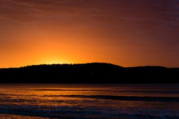 Sunrise at Ocean Beach