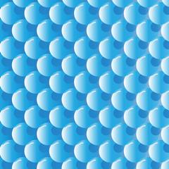 blue gradient bubbles shiny pattern background
