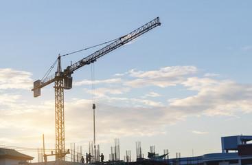 crane and construction plant.