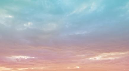 sunset and sunrise sky.