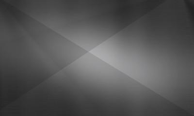 Foto op Plexiglas Metal Polygonal dark background, brushed metal texture