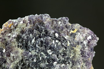 Mica mineral lepidolite from Haapaluoma feldspar quarry, Finland