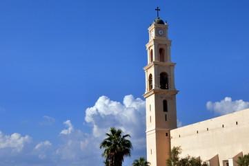 Tel Aviv - Turm der St.-Peter-Kirche in Jaffa