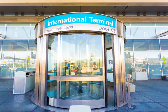 Revolving Door International Departure Level H