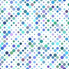 Colorful circle pattern design