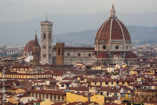 """Italian Florence: """"Duomo Santa Maria Del Fiore And Bargello View From"""