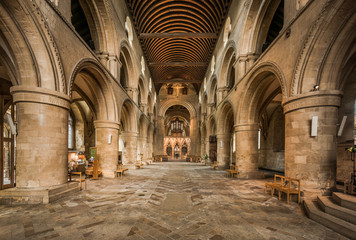 Southwell Minster Cathedral Main Hall