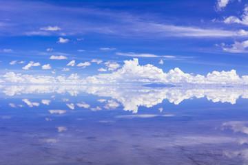 Fotomurales - ミラクルレイク・ウユニ塩湖の奇跡