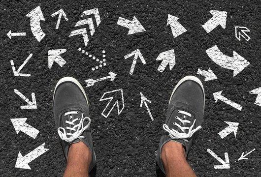 Richtungsentscheidung treffen