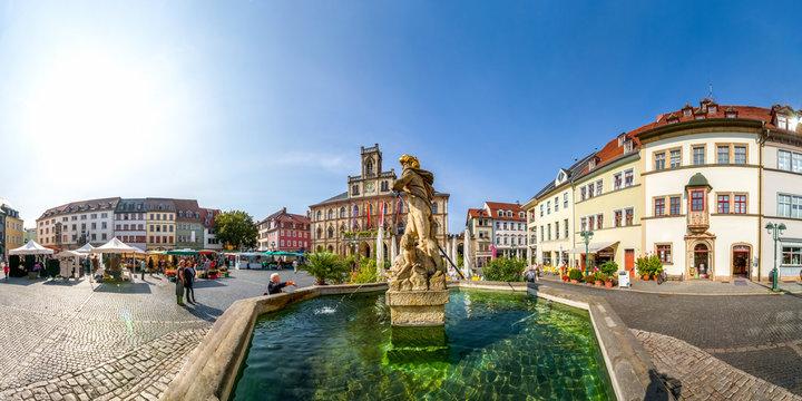 Marktplatz, Rathaus, Weimar
