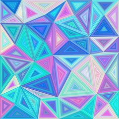 Colorful triangle tile mosaic background