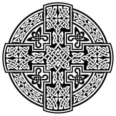 Vector Celtic cross.