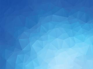 blue ocean geometric background