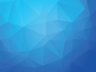 blue ice geometric background