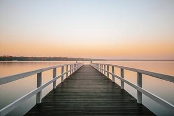 Sonnenuntergang am Steg #2