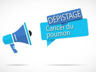 mégaphone : cancer du poumon