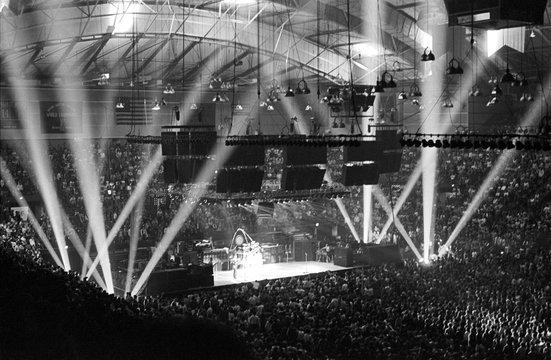 Arena Rock Music Concert