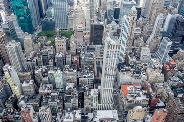 NYC Skyline from Empire State Building