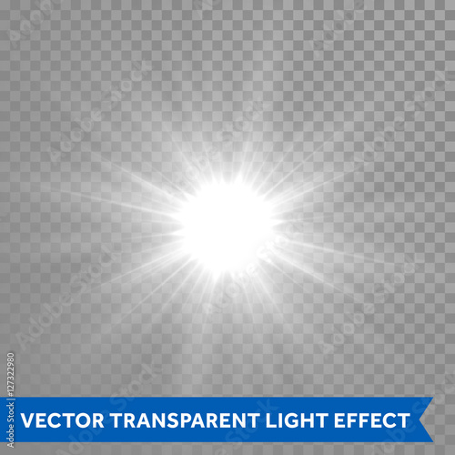 Shining And Glowing Sun Light Effect Star Explosion Outburst