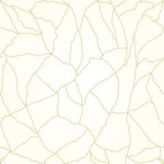 Seamless texture cracks in the porcelain vintage vector illustration