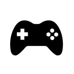 Joystick Joypad Game Controller Icon Logo Vintage Retro Illustration Flat Vector Stock