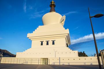Großer Buddha Tempel in Spanien