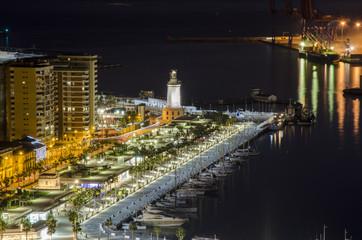 Malaga Andalusien Spaanien