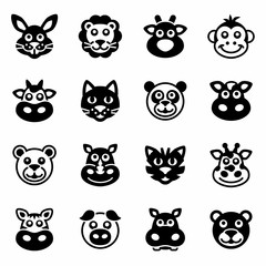 Vector Animals icon set