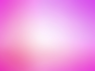 Abstract gradient pink purple colored blurred background