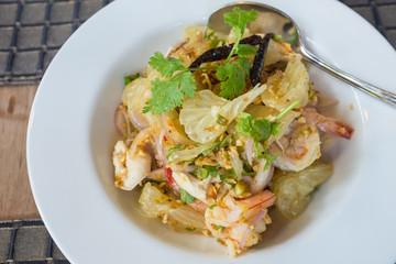 Pomelo salad thai style