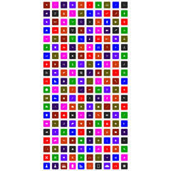 collection of colorful flat icons