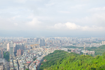 Beautiful cityscape of taipei ,Taiwan