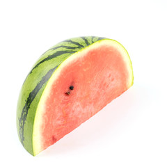 Fototapete - watermelon on white background