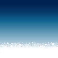 Carte de vœux. Fond bleu nuit.
