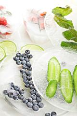 Various frozen food