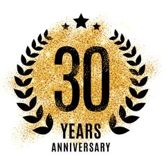 Thirty years golden anniversary