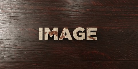 Image - grungy wooden headline on Maple  - 3D rendered royalty free stock image. This image can be used for an online website banner ad or a print postcard.