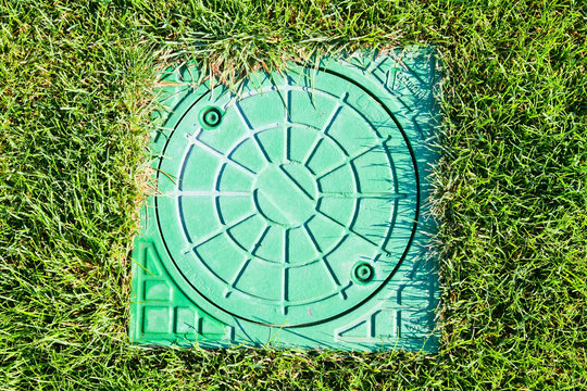 hatch of the storm water drain