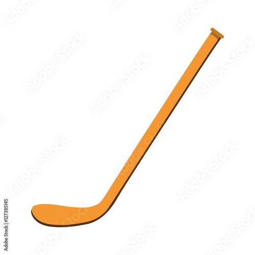 Ice hockey stick icon