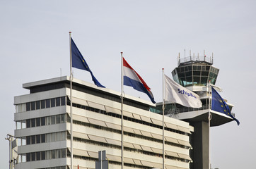 Amsterdam Airport Schiphol. Netherlands
