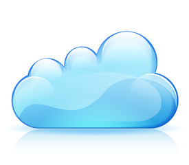 abstract cloud design