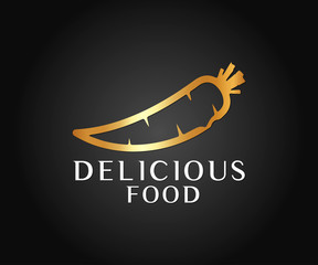 Food Logo and Icon Vector Design