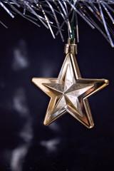 Golden Star for Christmas tree